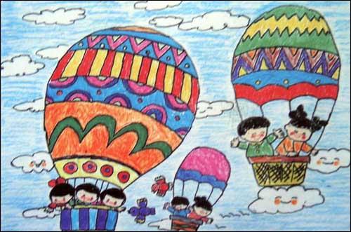 儿童绘画作品一