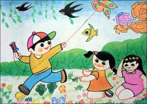 小学生美术简笔画