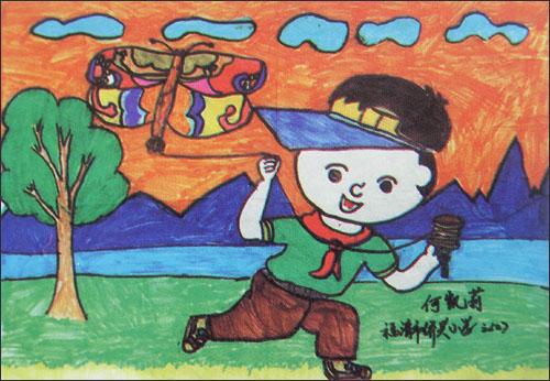 三年级恐龙儿童画图片展示_三年级恐龙儿童画相关图片