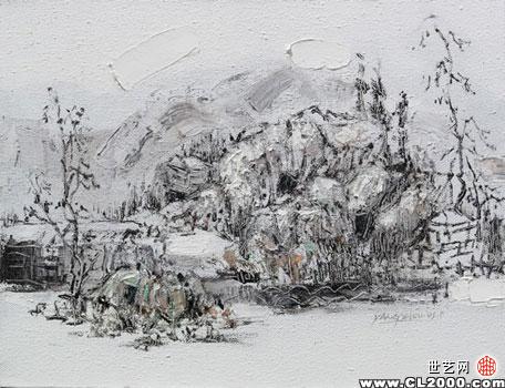—— 张志刚    我说我的《芥子园·山水》系列 能称其为风景的不一定