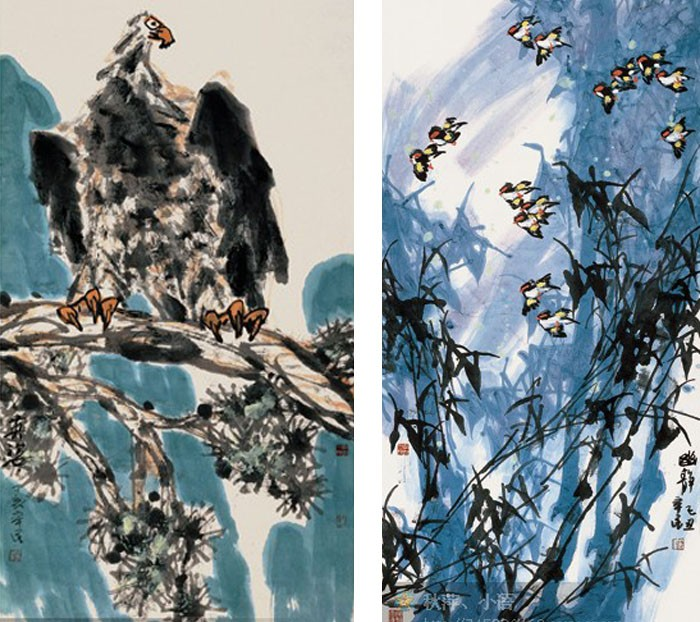 从艺近六十年来他由油画,水彩,人物,剪纸入手,自八十年代潜心研究和