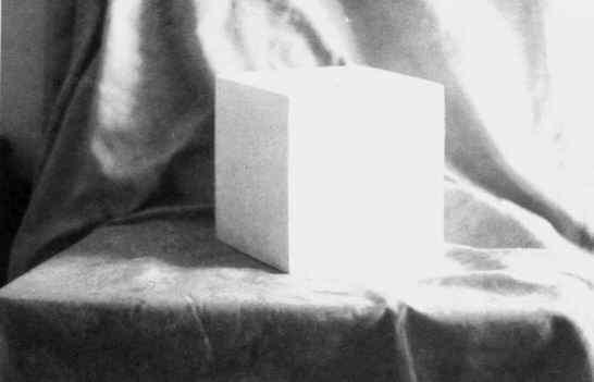 单个正立方体的写生步骤范图图片