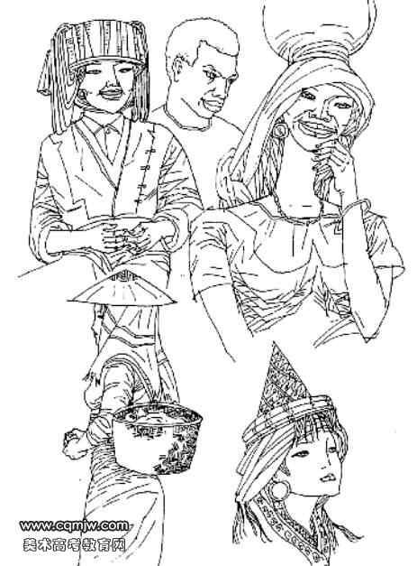 我的班级 科创赛简报 正文  人物图案设计是所有图案中难度比较高的一