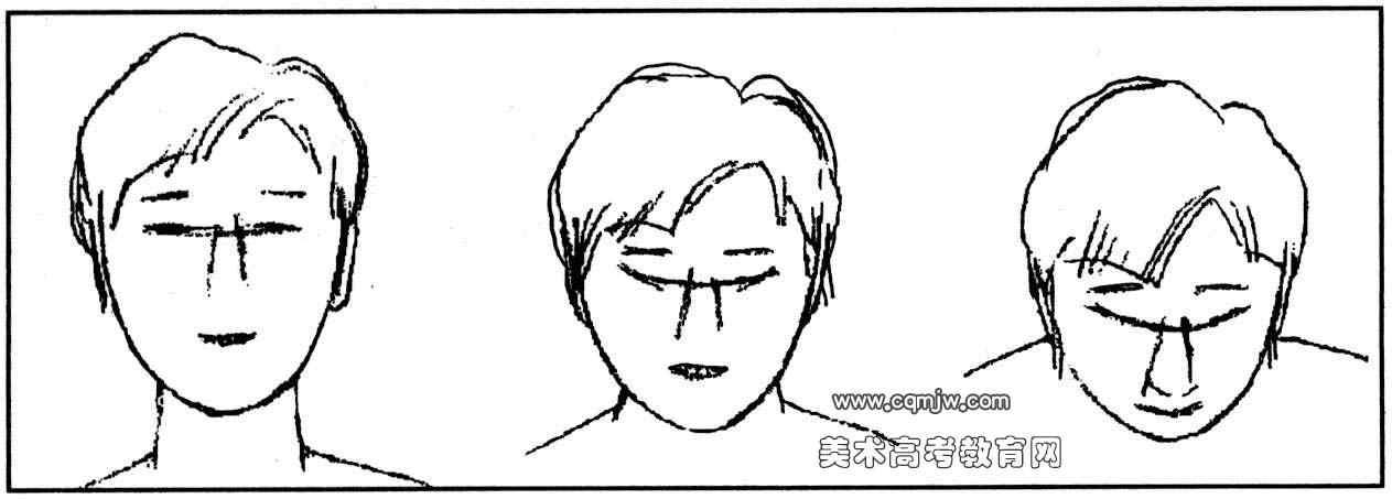 人物动态速写的步骤(三)