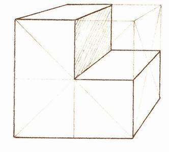 几何形体结构及几何相关物体的练习